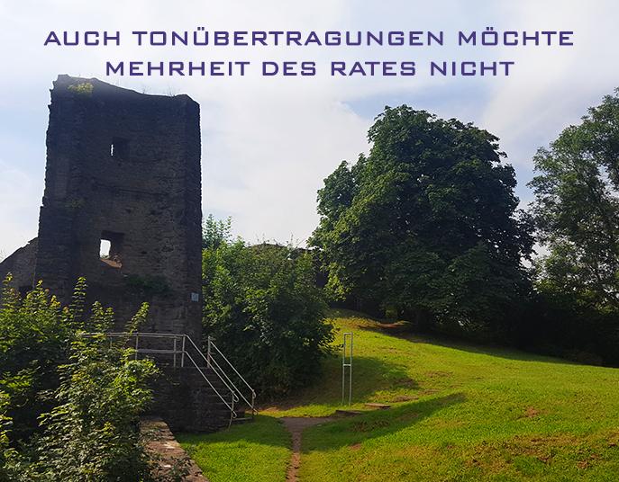 Ton Livestream in Wetter (Ruhr)