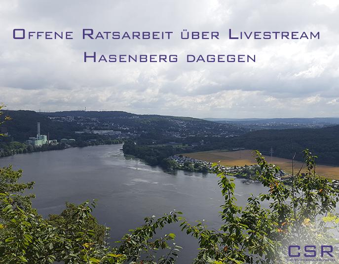 Ratssitzung Livestream Wetter Ruhr CSR
